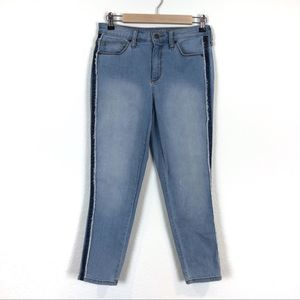 UNIVERSAL THREAD Exposed Side Seam Frayed Jeans